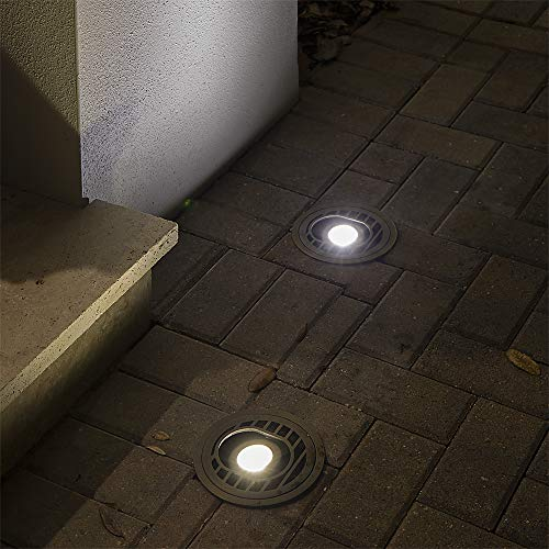 VOLT Lighting Adjustable LED In-Ground Well Light - Low-Voltage - Brass Landscape Light by VOLT (Image #6)