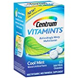 Cheap Centrum VitaMints (60 Count, Cool Mint Flavor) Multivitamin/Multimineral Supplement Chewables