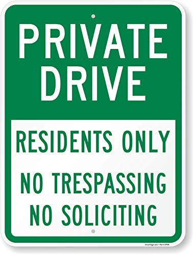 No Parking Private Drive -