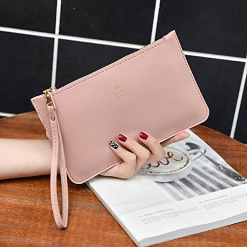 Leather Pink Bag Coin Handbag Bag Messenger Fashion GINELO Bags Phone Women's wallet d5YnPTXxd