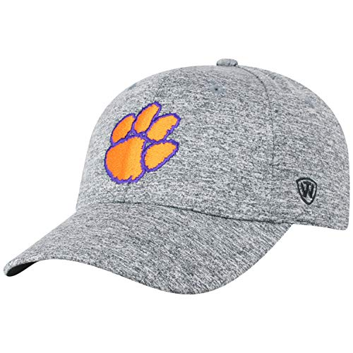 (Top of the World Clemson Tigers Men's Hat Icon, Charcoal,)