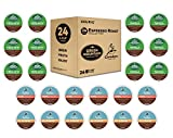 #8: Keurig Espresso Roast K-Cup Variety Sample Pack, Single Serve Coffee Pods, Makes Delicious Latte or Cappuccino Style Beverages, Compatible With all Keurig 1.0, 2.0 and K-Café Coffee Makers, 24 Count
