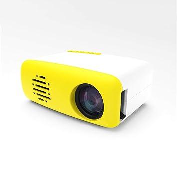 Mini proyector, con un proyector de plástico Pico LED de 1080P HD ...