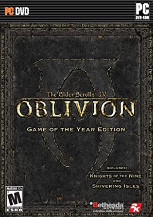 amazon the elder scrolls iv oblivion game of the year edition