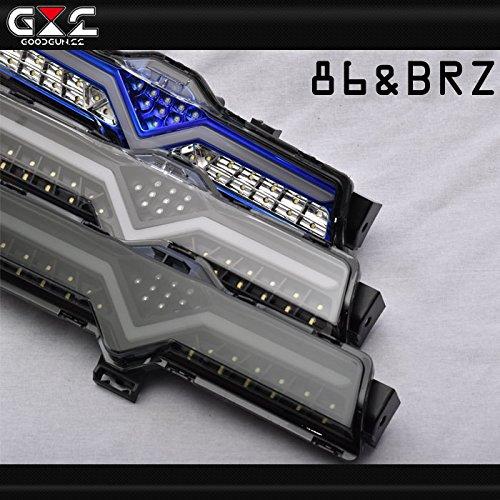 GOODGUN 86BRZ バックフォグ フルLED ライトバー F1仕上 ブラックスモーク グッドガン B07F6J3QSX