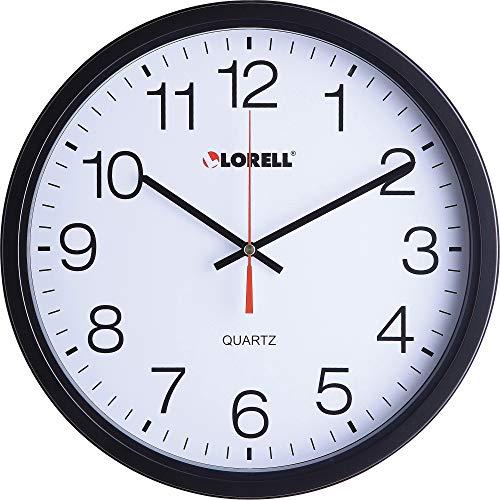 Lorell Clock Black