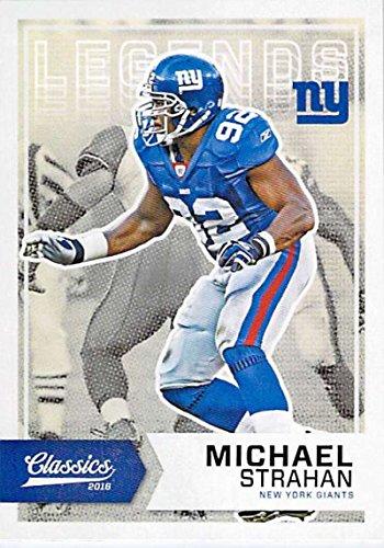 Football NFL 2016 Panini Classics Legends #101 Michael Strahan #101 NM+ NY Giants