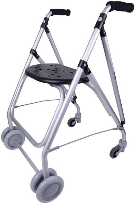 Forta fabricaciones - Andador de aluminio para ancianos ARA-PLUS - Negro