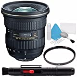 Tokina AT-X 11-20mm f/2.8 PRO DX Lens for Nikon F (International Model) No Warranty + Deluxe Cleaning Kit + 82mm UV Filter Bundle 3