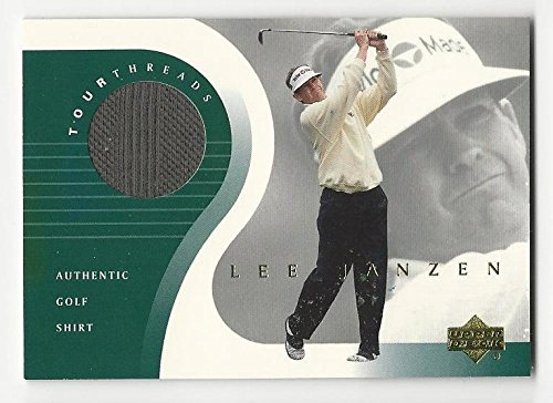 2001 Upper Deck Tour Threads Lee Janzen #TTLJ NM Near Mint MEM from Tour Threads
