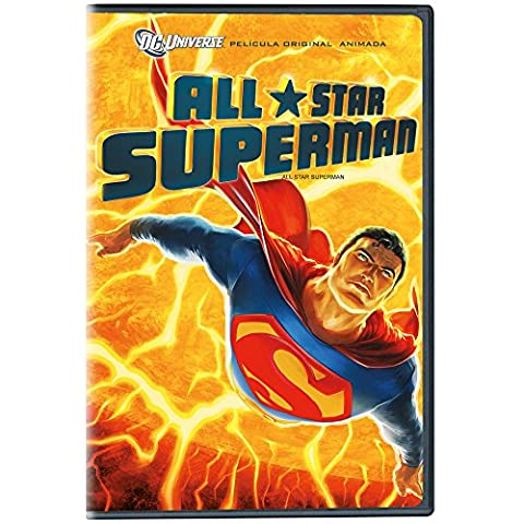 All Star Superman, Cine Animacion, Dc Comics, Dvd (Superman All Star)