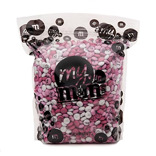 Baby Girl Custom M&M'S 5lb Bulk Candy Bag -