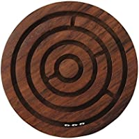 Purpledip Classical Maze: Three Small Steel Balls Inside Concentric Circle Maze (10421)