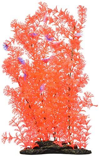 Elive Neon Pink Cabomba-Extra Large 16-18'' Aquarium Dcor Plastic Plants