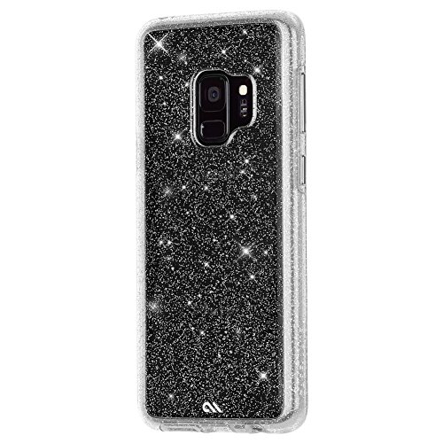 Amazon.com  Case-Mate - Samsung Galaxy S9 Case - SHEER CRYSTAL - Sparkle  Effect - Protective Design - Clear  Cell Phones   Accessories 91a15e5b3