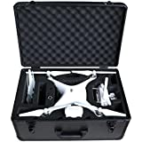 HUL Premium Aluminium Carrying Case for DJI Phantom 3 Standard / SE / Professional / Advanced / 4K / Phantom 4 / Phantom…