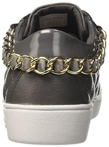 Guess Glinna Sneakers Low Grey Grey Top Black Grigio WoMen rrqvwSR