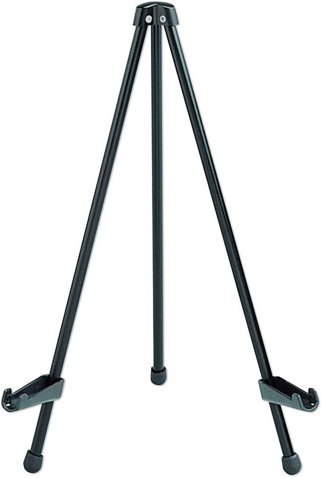 """Quartet Easel, Tabletop Instant, 14"""" High, Supports up to 5 lbs, Portable & Collapsible, Black (28E) [並行輸入品]"""