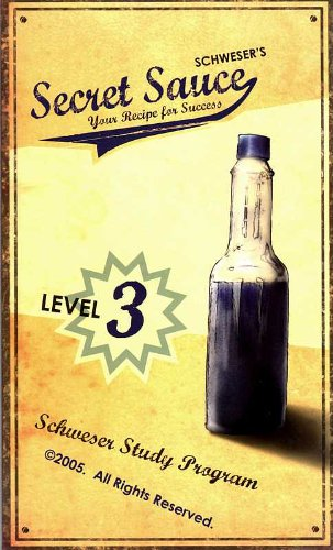 Schweser's Secret Sauce: Your Recipe for Success, Level 3 (Study Guide for the CFA Exam)