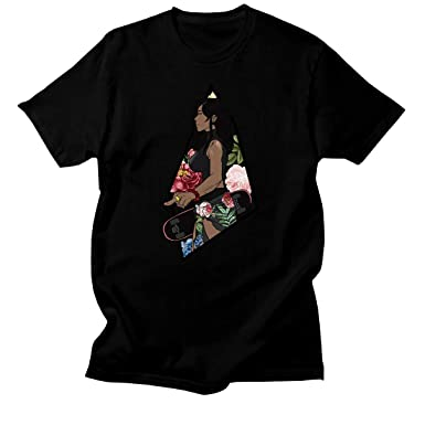 c9ed70814e02e Custom T Shirt Matching Style of Nike Air Foamposite One Floral Foam 1-25-4  at Amazon Men s Clothing store