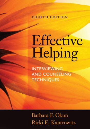 Download Effective Helping: Interviewing and Counseling Techniques Pdf