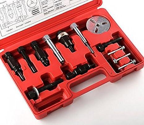 A/C Deluxe Automotive centro de embrague del compresor Remover Extractor Instalador Herramienta Aire Acondicionado AC: Amazon.es: Coche y moto