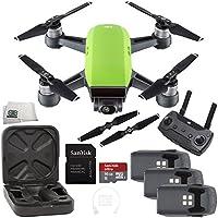 DJI Spark Quadcopter (Meadow Green) + DJI Spark Remote Ultimate Bundle