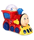 Babytintin Bump and Go Musical Engine Train with 4D Light And Sound For Toy For Kids