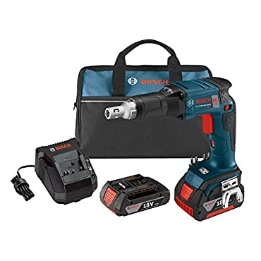 Bosch SGH182-03 18V Brushless Drywall Screwdriver with Battery, Charger and Contractor Bag