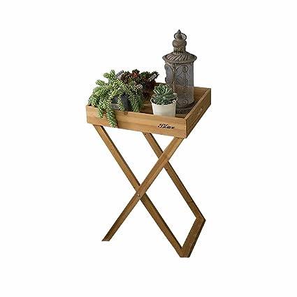 Amazon Com Folding Square Flower Stand Succulents Plant Potted