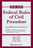 Federal Rules of Civil Procedure: 2018-2019 Statutory Supplement with Resources for Study (Supplements)