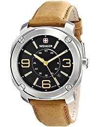 Men's 01.1051.102 Escort Analog Display Swiss Quartz Brown Watch