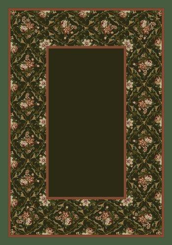 Milliken Bouquet Lace - Milliken Design Center 8539 - Bouquet Lace Olive
