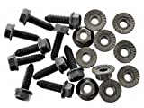 Retro-Motive Body Bolts & Flange Nuts For Toyota- M6-1.0mm Thread- 10mm Hex- Qty.10 ea.- #127