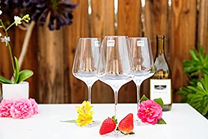 Champagne Glasses K/önner Stemware Lead Free Crystal Wine Glasses Burgundy Stölzle Lausitz COMIN18JU080682 White Wine Good for Red Wine Bordeaux Wine Glasses Burgundy Wine Glasses