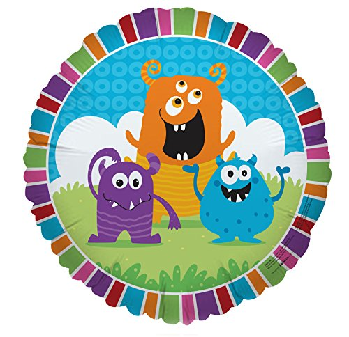 BirthdayExpress Aliens and Monsters Party Supplies - Foil Balloon]()