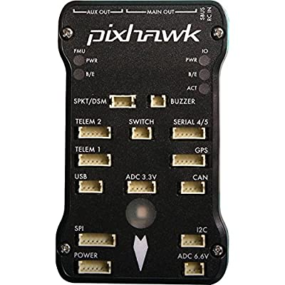 3D Robotics Pixhawk Autopilot Bundle Kit Includes: 3DR GPS Module Kit + PPM Encoder + On Screen Display + External Led & Usb + Airspeed Sensor & more