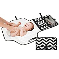 Travel Diaper Changing Pad for Babies – Foldable Mat with Detachable Changing...
