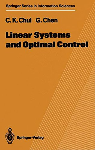 Read Online Linear Systems and Optimal Control (Springer Series in Information Sciences) pdf epub