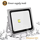 Roleadro Led Floodlights Outside 50w IP65 Waterproof 6500K Cool White Outdoor Led Lights for Garde