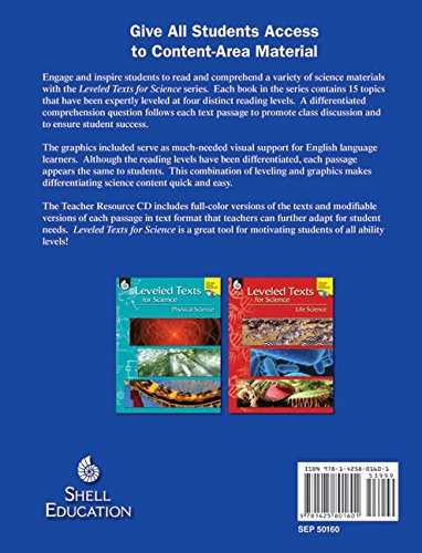 Amazon.com: Leveled Texts for Science: Earth and Space Science ...