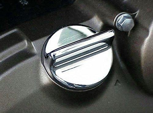 i5 Chrome Oil Filler Cap for Suzuki GSXR600 GSXR750 GSXR1000 GSXR 600 750 1000 1100 (Gsxr600 Oil)