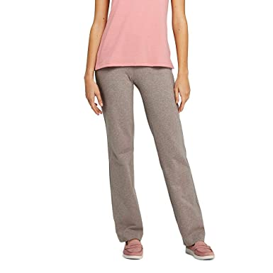 eee82129ff2ff Lands  End Women s Petite Starfish Straight Leg Elastic Waist Pants Mid Rise