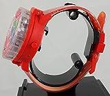 PJ Masks Kid's Light Up Spinner Red Digital Watch