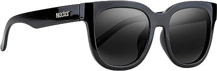 NECTAR Beryl Black//Black Polarized Sunglasses