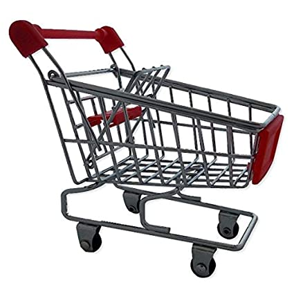 caddie carro ocupa el supermercado suministros en miniatura para la of Rosa