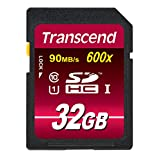 Transcend 32 GB High Speed Class 10 UHS Flash Memory Card TS32GSDHC10U1E 85/45 MB/s
