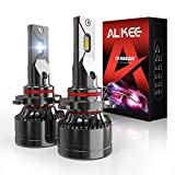 9005 LED Headlights, Aukee HB3 110W High Power 18,000LM Extremely Bright 6000K Cool White CSP Chips Conversion Bulbs Kit