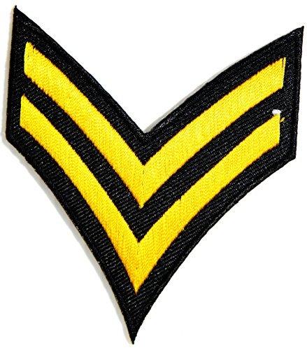 US Rank Corporal Uniform Suit Vest Patch army - Air Force Rank Patches