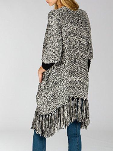 CASPAR Fashion - Cárdigan - para mujer negro